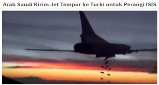 Perang Dunia Ke3 Telah Bermula Awal Jam 3AM Tadi Tanpa Kita Sedar ! Allahuakbar..Turki dan Saudi Mula Serangan ke Syria Besar-Besaran !