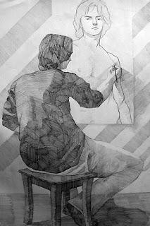 An Artist Drawing