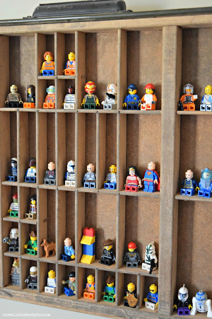 Lego organization and storage hacks - One Mile Home Style