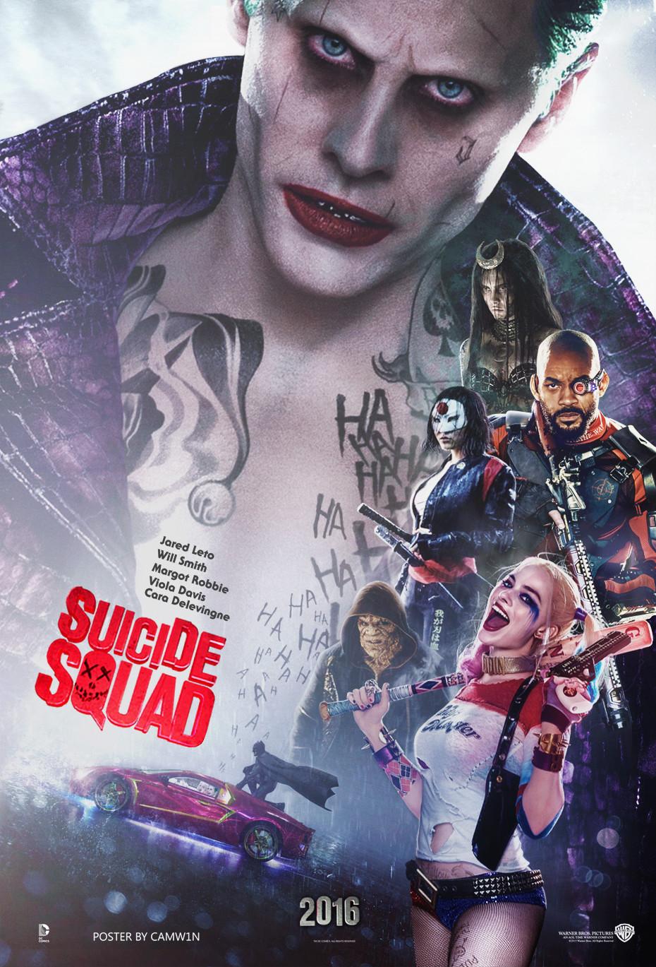 デヴィッド・エアー監督(「フューリー」2014年)の悪役大集合のコミックヒーロー映画「スーサイド・スクワッド」(2016年8月5日全米公開)が、これまでにリリースした