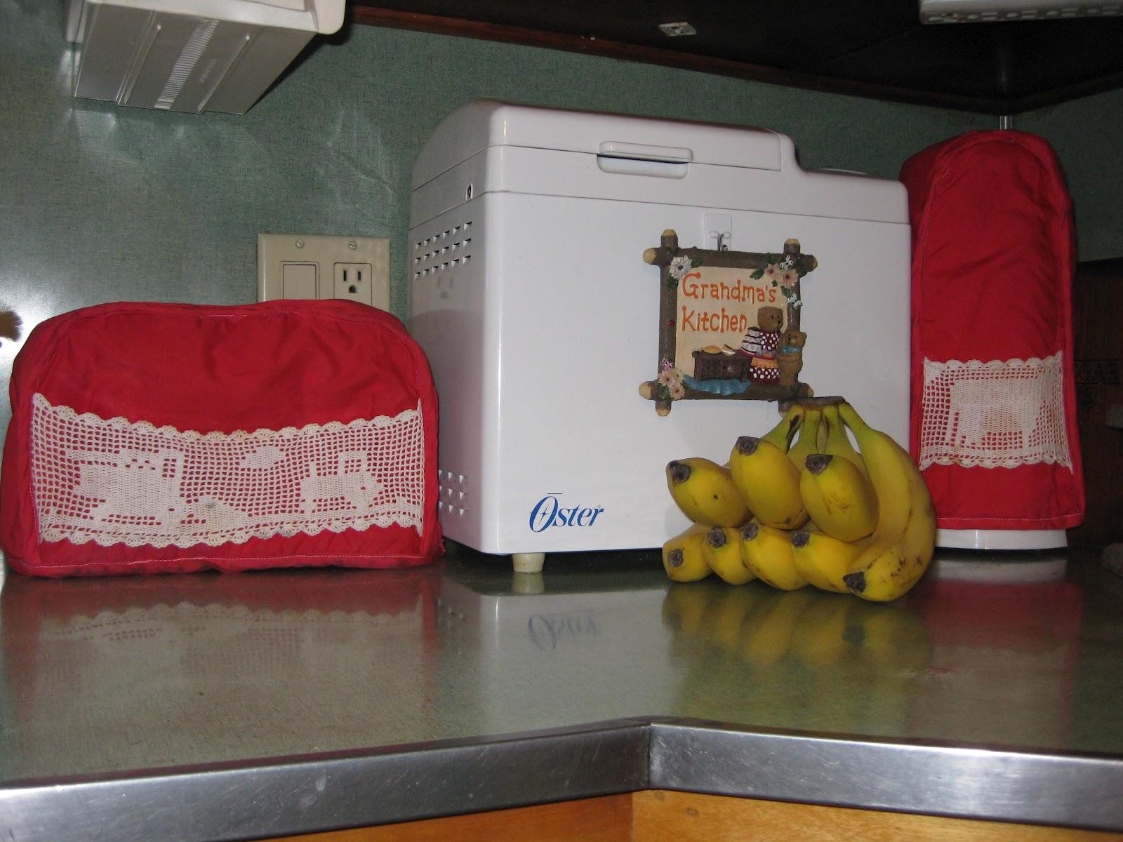 Cloth Covers Kitchen Appliances