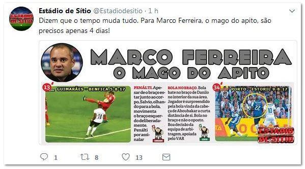 Marco Ferreira, o mago do apito