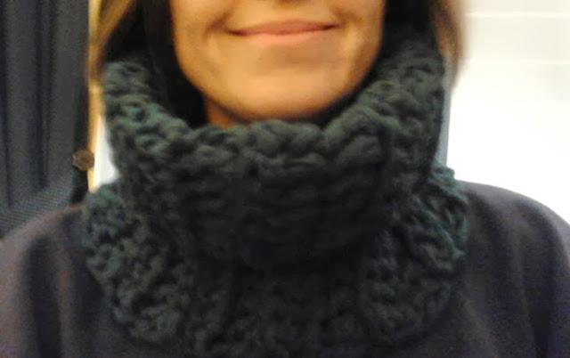 cuello de trapillo, cuello para invierno