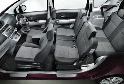 Interior Daihatsu Xenia