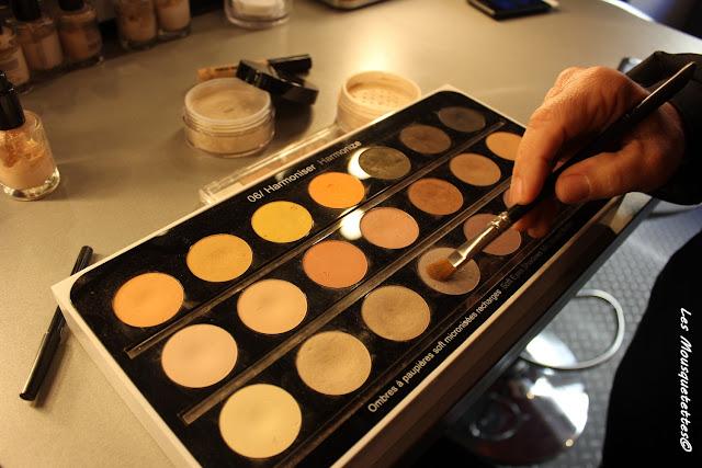 La Loge Maquillage de Georges Demichelis - Les Mousquetettes©