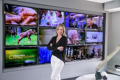 Monica Pimentel, VP de conteúdo da Discovery Networks Brasil - Divulgação