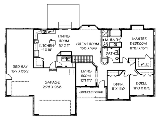 western home decorating ranch house plans