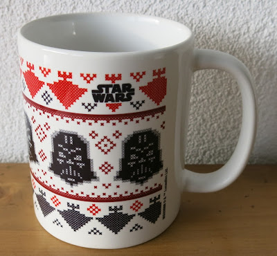 Star Wars cross stitch mug