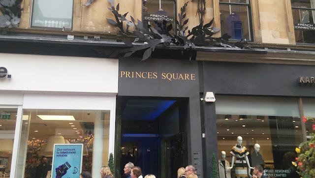 Princes Square Glasgow Entrance