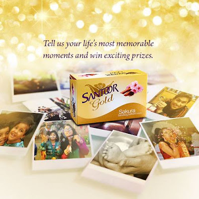 Share your golden moments and stand a chance to ‪win‬ exciting ‪‎SANTOOR‬ hampers