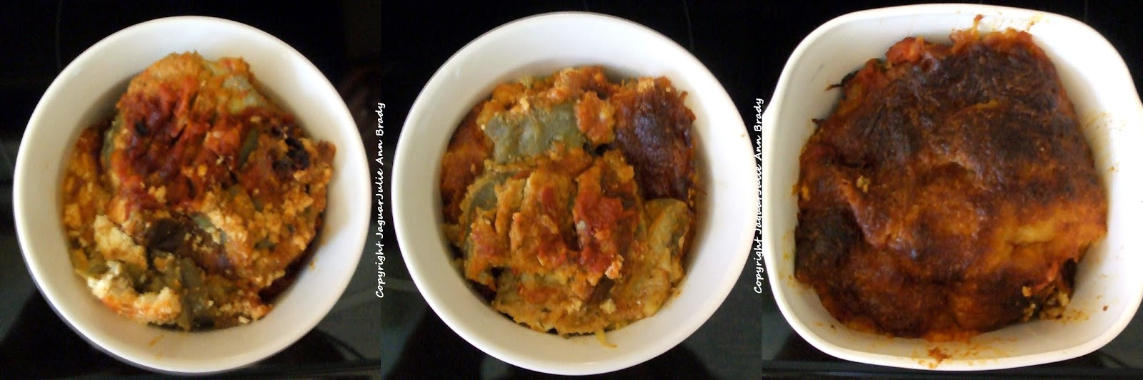 My Baked Eggplant Parmesan Recipe - Freezer Dishes