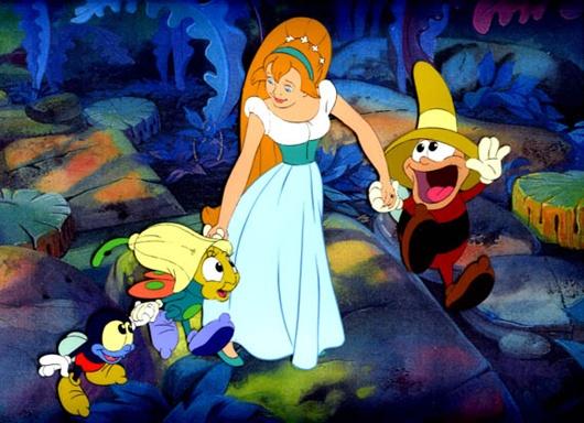 Thumbelina making friends Thumbelina 1994 animatedfilmreviews.filminspector.com