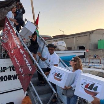 Israel intercepta flotilla de ayuda humanitaria a Gaza