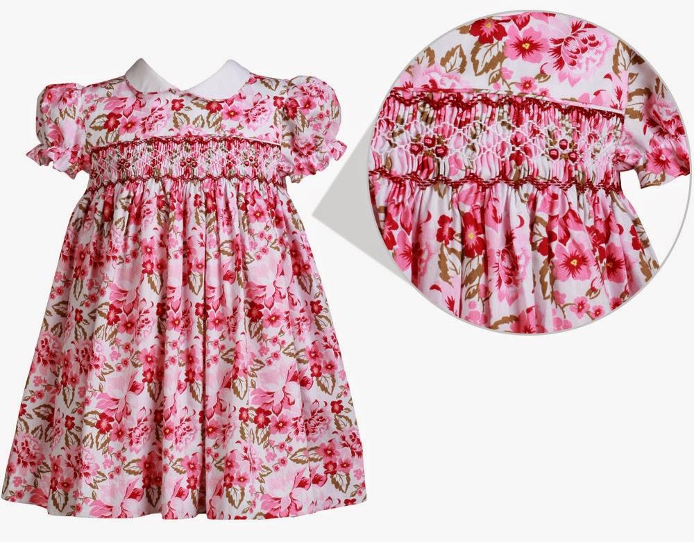 d95cbf53f Vestido Casinha de Abelha Flowers: já fiquei imaginando minha ruivinha  aqui!!! Linda estampa!