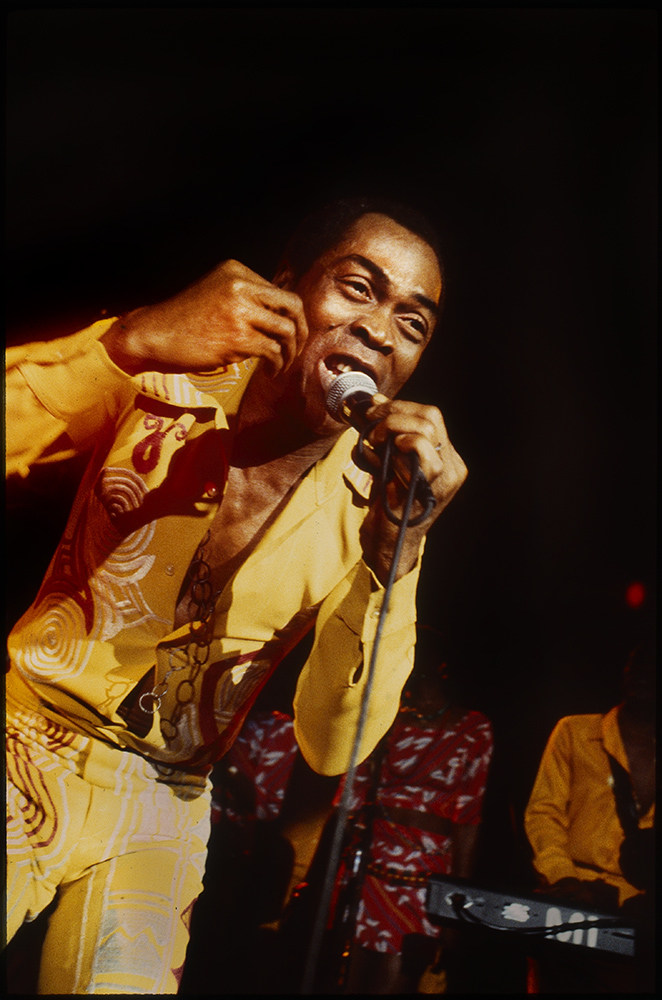 some old pictures I took: Fela