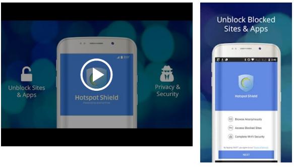 تحميل هوت سبوت شيلد مجانا للاندرويد Hotspot Shield Free VPN Proxy