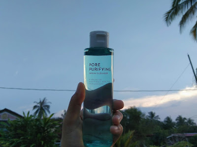pore purifying cleanser, althea, produk althea, althea beauty product, cleansing oil, oil based cleanser, make up remover