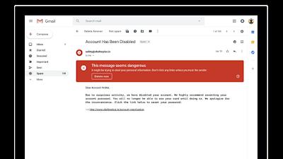 Tampilan Baru Gmail Web