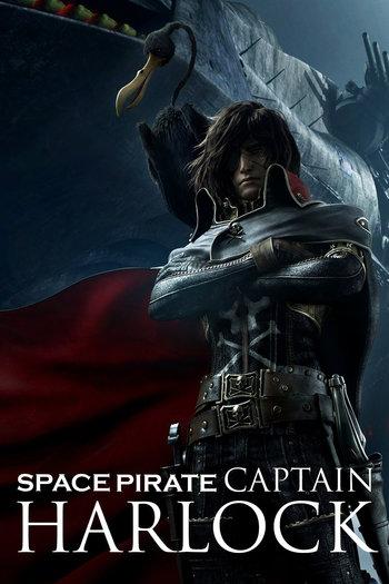 Capitão Harlock: Pirata do Espaço Torrent - BluRay 1080p Dual Áudio (2013)