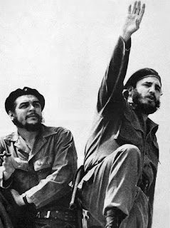 Che Guevara and Fidel Castro by Alberto Korda