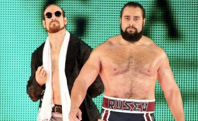 Rusev Day Aiden English Lana WWE SmackDown Split Feud