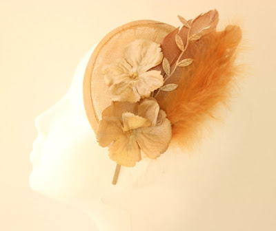 OI 1617 - Coleccion Flor - Cobre Dorado- Plato mini