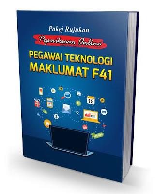 Pakej Rujukan Peperiksaan Online Pegawai Teknologi maklumat F41