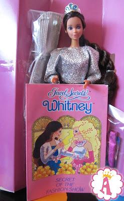 Фото куклы Барби Уитни 1986 года
