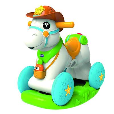 TOYS : JUGUETES - CHICCO - Caballito Baby Rodeo Correpasillos 3 en 1: Balancín, Correpasillos y Centro de Actividades 2016 | TOYS - BEBE | Edad: 1-3 años Comprar en Amazon España