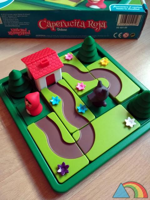 Juego Caperucita Roja Deluxe de Smart Games