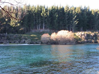 Río Clutha-Mata-Au, lago Wanaka, Nueva Zelanda
