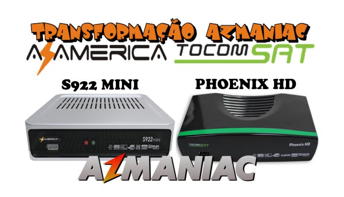 Azamerica S922 Mini Transformado em Tocomsat Phoenix v1 059