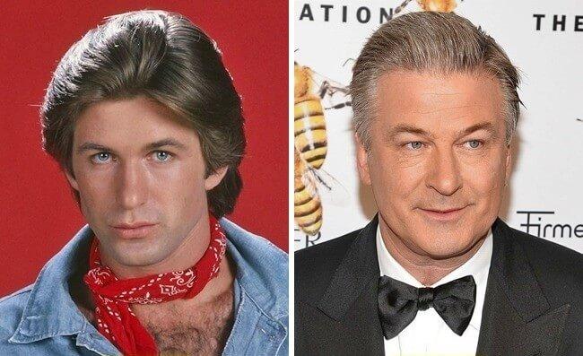 Os grandes atores do cinema no início da carreira