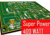 High Power Class-D Amplifier D4K5 - Electronic Circuit