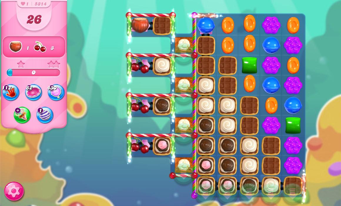Candy Crush Saga level 5314