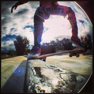 Mark Jansen Skateboarding Adelaide Hallett Cove Grind