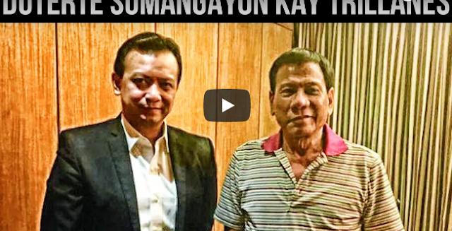 Sobrang Nakakagulat Ito! Pangulong Duterte Sumang Ayon Kay Trillanes!