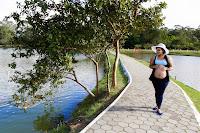 Fotografia de Ensaio Fotográfico em Parque Centenário em Mogi das Cruzes-SP, Gestante no Parque do Centenário, Parque Centenário de Mogi das Cruzes - SP