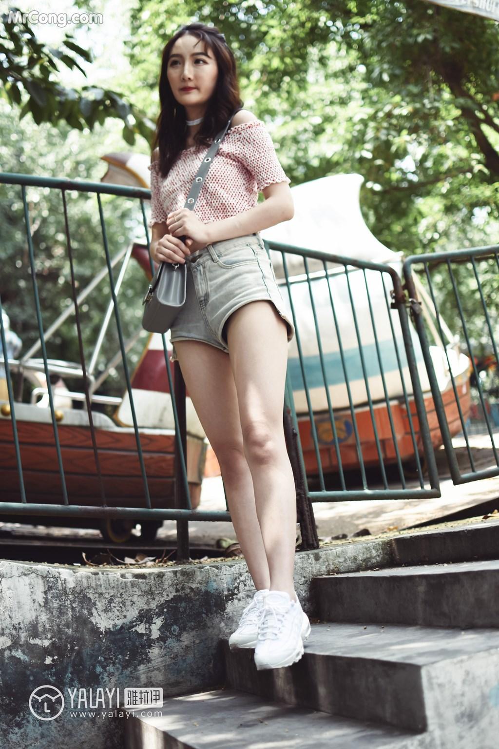 Image YALAYI-No.006-MrCong.com-005 in post YALAYI No.006: 叶肖肖 (62 ảnh)