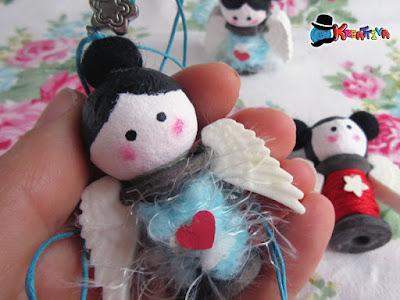 Come realizzare un angelo con un rocchetto
