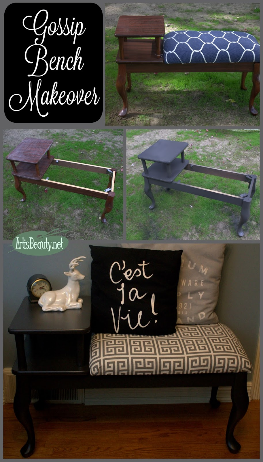 Art Is Beauty Gossip Bench Classic Makeover Themed