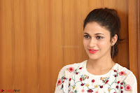 Lavanya Tripathi in Summer Style Spicy Short White Dress at her Interview  Exclusive 220.JPG