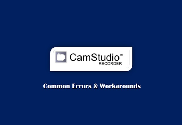 CamStudio Review - Best free open source desktop recording software for Windows