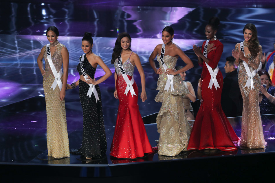 Miss Universe finalists' answers to the Q&A portion