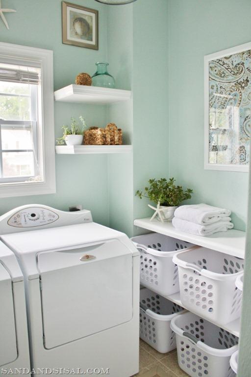 Decoraci n f cil cuarto de lavado y planchado for Cuartos lavaderos