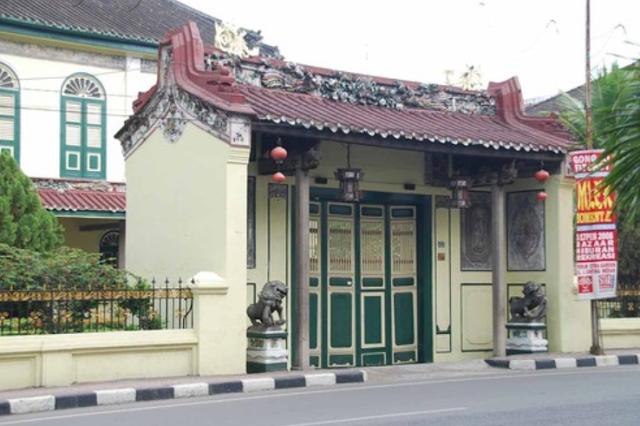 Wisata Rumah Tjong A Fie di Medan