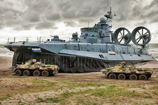 Russian training focus in 2017 - Amphibious operations