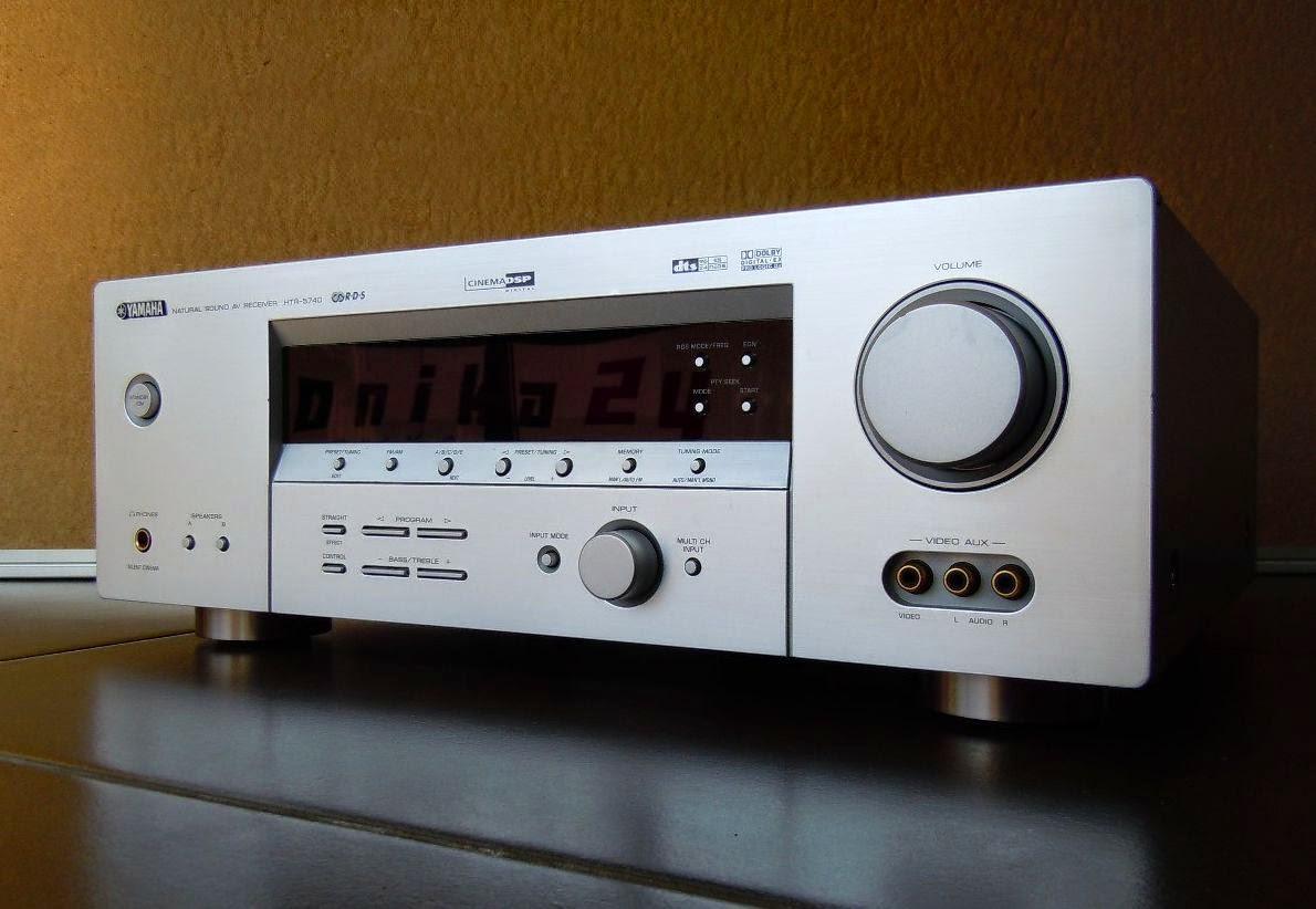 yamaha htr 5740 av receiver audiobaza. Black Bedroom Furniture Sets. Home Design Ideas