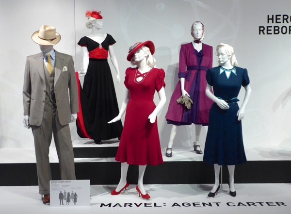 Agent Carter TV costumes