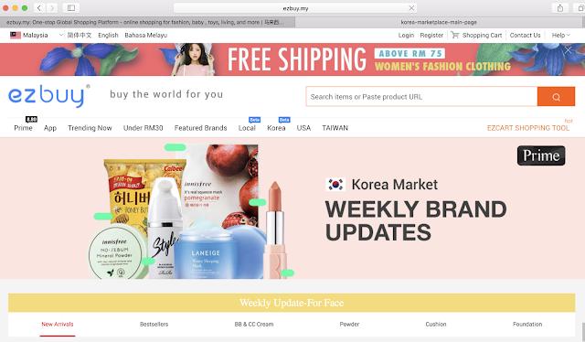 Website ezbuy Malaysia